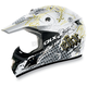 White VX-17 Bling Helmet