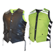 Mens Black/Green G2 D.O.C. Reversible Safety Vest