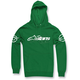 Green Recognized Pullover Hoody