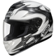 White/Black/Silver Neuron Qwest Helmet