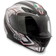 Silver Black/Red K4 EVO Helmet