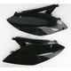 Kawasaki Black Side Panels - KA04700-001