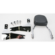Complete Backrest/Mount Kit with Small Steel Backrest - 34-2110-01