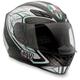 Silver Black/Green K4 EVO Helmet
