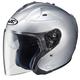 Metallic Silver FG-Jet Helmet