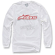White Full Grain Long Sleeve Shirt