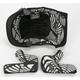 Black/White 8 Series Helmet Liner