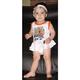 Infant Harwee Two-Piece Dress w/Headband