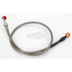 Stainless Steel Braided Rear Brake Line + 4in. - MY012017