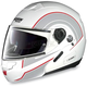 White/Red/Anthracite N90 N-Com Modular Helmet