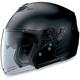 Black Graphite N43E N-Com Helmet