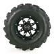 Rear Left Gloss Black 387X Tire/Wheel Kit - 0331-1173