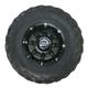 Front Left Gloss Black 387X Tire/Wheel Kit - 0331-1171