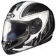 Black/Silver/Black Voltage CL-16 Helmet