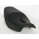 Track - CF One-Piece Seat w/Carbon Fiber-Look Accent - 0810-K030