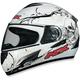 FX-100 White Skulls Helmet