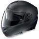 Outlaw Flat Black Graphite N104 N-Com Modular Helmet