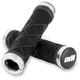 Black Cross Trainer Lock-On Grips - L30CTBS