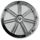 Chrome 7-Spoke Air Cleaner Cover - ACC-7S-C