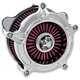 Chrome Turbine Air Cleaner - 0206-2039-CH