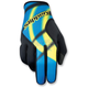 Blue Magneto Gloves