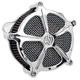 Chrome Venturi Speed 5 Air Cleaner - 0206-2017-CH