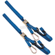 Blue 1 in. Carabiner Integrated Soft Hook Tie Downs - 10-0538