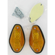 Tear Drop Marker Lights - Dual Filament - 25-8178