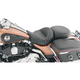 Smooth One-Piece Ultra Touring Seat w/Chrome Studs - 76034