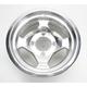 Polished Large Bell Cast Aluminum Utility ATV Wheel - 02300034