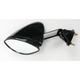 Black OEM-Style Replacement Rectangular Mirror - 20-43062