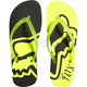 Womens Day Glo Yellow Core Flip Flops