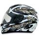 White/Silver FX-95 Dfly Helmet
