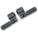 Black Anodized Clamp-On Footpegs - BL820