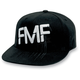 Black/White Drip Hat
