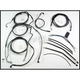 Black Pearl Designer Series Handlebar Installation Kit for Use w/12 in. - 14 in. Ape Hangers w/ABS - 487341