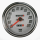 2:1 Speedometer Billet-look Face - DS-243893