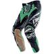 Green/Silver Hardwear Pants