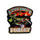 Vets Dont Forget Embroidered Patch - 62802