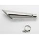 Polished Stainless Steel Slash-Cut Megaphone Slip-On Muffler - 60801-2100