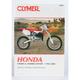 Honda CR80R/CR80RB Expert Repair Manual - M435