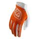Youth Orange/White Air Gloves