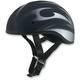 Black w/Flat Silver FX-200 Slick Beanie-Style Half Helmet