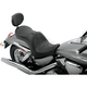 Mild Stitch Low-Profile Double-Bucket Seat with Backrest - 0810-0756