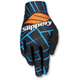 Black/Blue Flex Lite Gloves