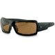 Trike Sunglasses w/Amber Lens - ETRI001A