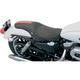 Predator Solo Seat w/Orange Flame and GT Stripe - 0804-0400