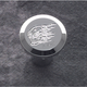 Ball Milled Chrome Billet Choke Knob - 950109HHC