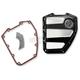 Platinum Cut Scallop Cam Cover - 0177-2020-BMP