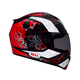 Black/Red/White RS-1 Gear Head Helmet - Convertible To Snow